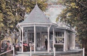 EXCELSIOR SPRINGS, Missouri, PU-1908; Sulpho Saline Spring, Gazeebo Patio