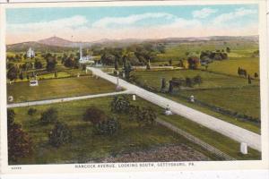 Pennsylvania Gettysburg Hancock Avenue Looking South