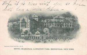 Hotel Gramatan, Bronxville, New York, early postcard, Used in 1907