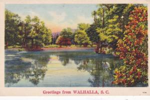 South Carolina Greetings From Walhalla 1942
