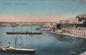 VALLETTA MALTA , 00-10s ; Fort Lascaris
