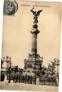 CPA Dunkerque - La Statue de la Victoire (137423)