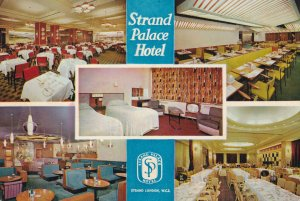 Strand Palace Hotel London Bedrooms Dining Area 1960s Postcard