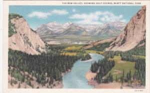 BANFF, Alberta, Canada, 1930-1940´s; Banff National Park, Showing Golf Cours...