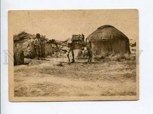 271525 Ashgabat kibitka of Turkman CAMEL 1930 year RPPC