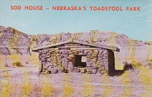 Sod House Nebraska's Toadstool Park Nebraska's
