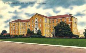 Wichita Falls Clinic Hospital Wichita Falls TX 1952
