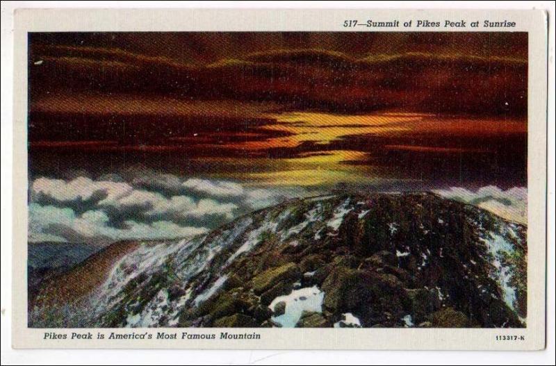 CO - Summit of Pikes Peak