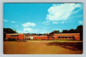 Alma MI- Michigan, Alma College, Grace and Herbert Dow Building, Chrome Postcard