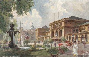 HANNOVER , Germany, 1900-10s ; Bahnhof ;  TUCK 630 B