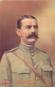 General Kitchner Lord Horatio-Herbert commandant en chef de l`armee des Indes
