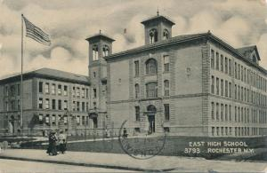 East High School at Rochester, New York - pm 1907 - DB