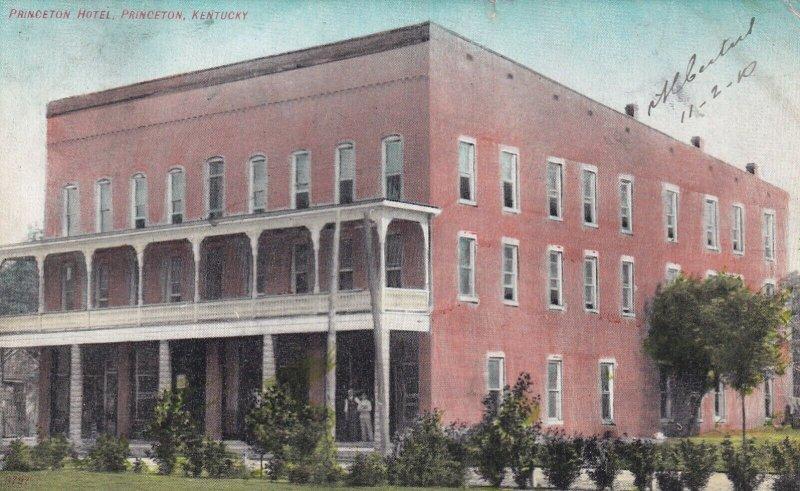 PRINCETON, Kentucky, PU-1910; Princeton Hotel
