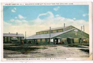 Admin Building & YMCA, Camp Dix NJ