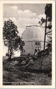 VICTORIA, BC Canada   DOMINION Astrophysical OBSERVATORY   c1920s   Postcard