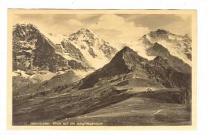RP; Mannlichen, Blick auf die Jungfraugruppe, Berne, Switzerland, 10-20s