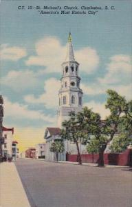 Saint Michaels Church Charleston South Carolina