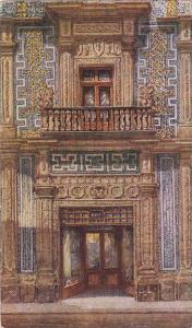 House of Tiles Mn Entrance , Mexico City , PU-1946