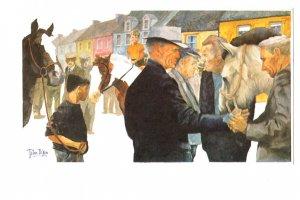 OVERSIZE, Thompson Price, Horse Dealers. Ireland, John Dixon Artist, 1979