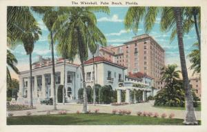 PALM BEACH, Florida , 1910-20s ; The Whitehall