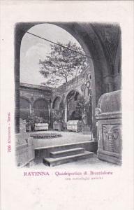 Italy Ravenna Quadriportico di Braccioforte