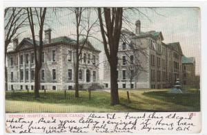 General Hospital Kingston Ontario Canada 1923 postcard