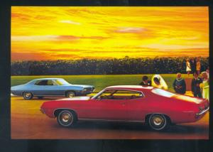 1971 FORD TORINO CAR DEALER ADVERTISING POSTCARD '71 FORD CARS