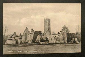 Mint Vintage Abbey Adare Co Limerick Ireland Real Picture Postcard RPPC