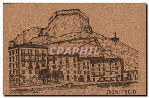 Old Postcard Bonifacio Corsica Corsica