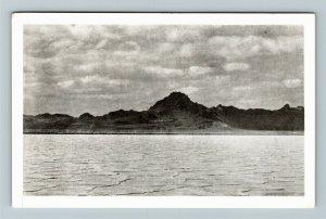 Salduro UT-Utah, Bonneville Salt Beds, Chrome Postcard