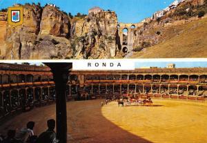 Costa Del Sol Spain Postcard, Ronda, Twin View R48