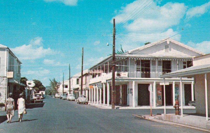 FREDERIKSTED, St. Croix, Virgin Islands , 40-60s ; Street