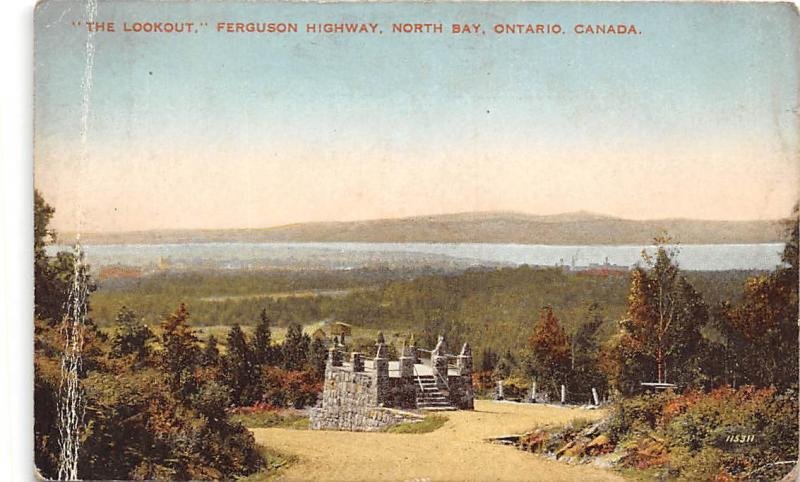 Canada, Ontario, The Lookout Ferguson Highway, North Bay
