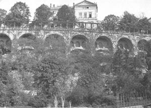 Alt Kassel Weinberg mit Henschel Villa