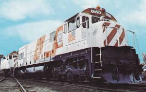 Burlington Northern Train Locomotive - Unit Number 1776