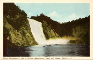 Canada Montmorency Falls Near Quebec