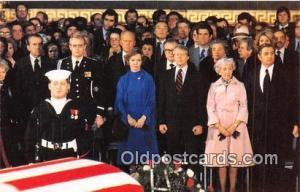 Hubert Humphrey, Vice President Walter Mondale Postcard President & Mrs. Carter