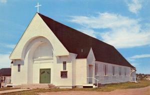 Wells Beach Maine~St Mary's Roman Catholic Church~1960s Postcard