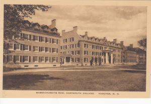 Massachusetts Row, Dartmouth College, HANOVER, New Hampshire, 1910-1920s