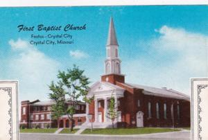 Missouri Crystal City First Baptist Church