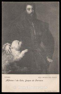 Tiziano - Alfonso I de Este, Duque de Ferrara