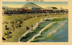 MA - Nantasket Beach. Roller Coaster and Amusements
