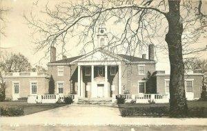 Eno Memorial Building Simsbury Connecticut #512 1939 RPPC Photo Postcard 12243