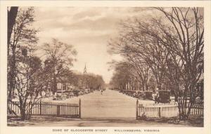 Duke Of Gloucester Street Williamburg Virginia