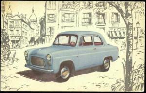 1960 British FORD Prefect, let to Cortina and Capri