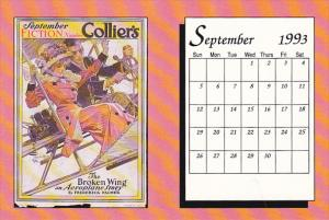 September 1993 Limited Editon Calendar Card