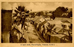 Trinidad - Port of Spain, A Back Street