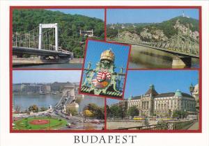 Hungary Budapest Views Along The Danube