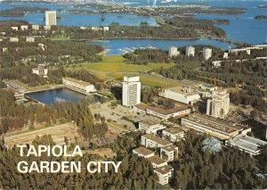 B109411 Finland Tapiola Garden City Tapiola Garden City Panorama Lake