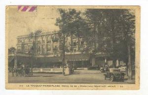Le Touquet-Paris-Plage. Hotel de de L'Hermitage , France, PU-1934
